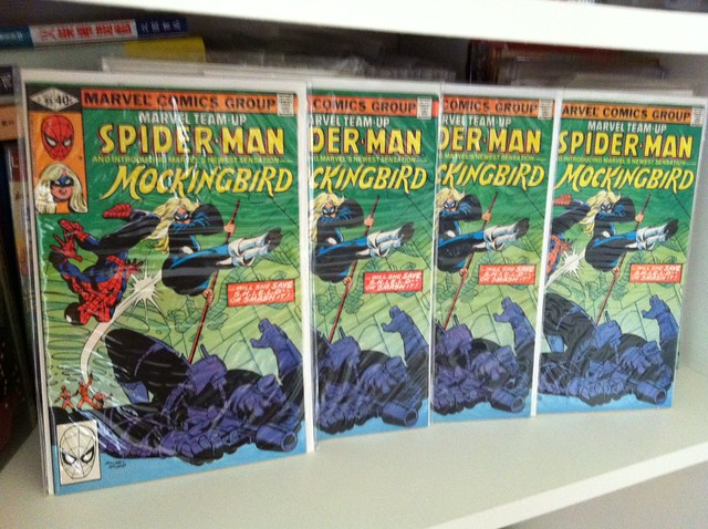 First appearance of Mocking Bird