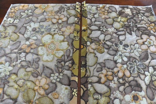 DIY Vintage Fabric Envelope Pillow Covers