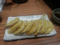 fish and chips(0.0), meal(1.0), frying(1.0), deep frying(1.0), fried food(1.0), seafood(1.0), food(1.0), dish(1.0), cuisine(1.0), tempura(1.0),