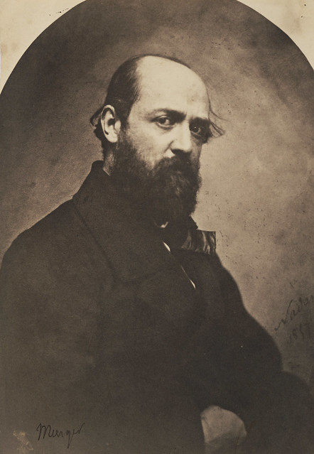 Henry Murger (1822–61) by Nadar, 1857
