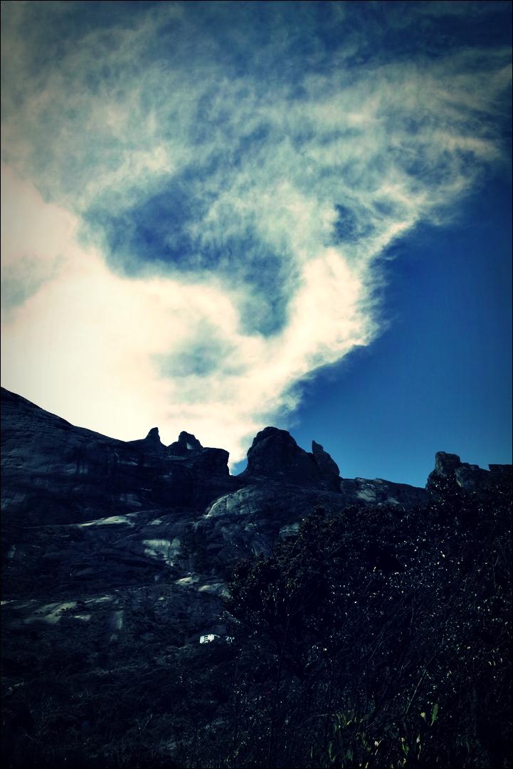 산-'키나발루 산 등정 Climbing mount Kinabalu Low's peak the summit'