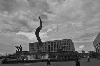 Guadalajara - Plaza Tapatio Fuente La Inmolacion de Quetzalcoatl