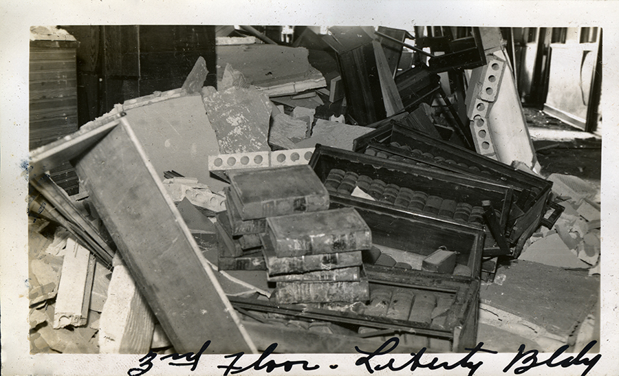 The Law Offices of Sleeper, Boynton, and Kendall-Liberty Building Explosion, Waco, Texas
