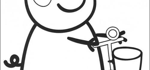Desenhos para Pintar - Peppa colorir