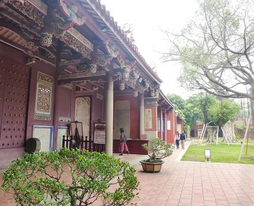 Taiwan-Tainan-Temple Confucius (9)