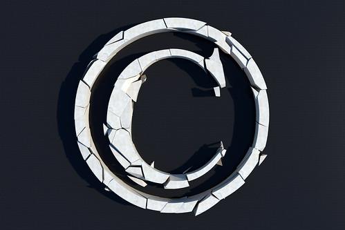 3D Broken Copyright
