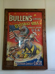 Poster for Buffalo Bill's Wild West show