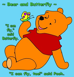 ~ Bear and Butterfly ~