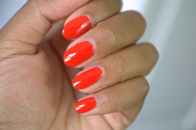OPI Race Red nail polish