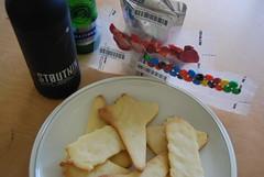 Yuri's Night food and beverage sample
