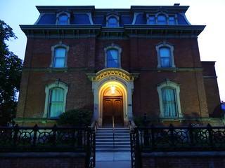 George Brown House At Blue Hour / Twilight .... Toronto, Ontario