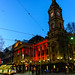 Melbourne Town Hall - Red for #aids2014