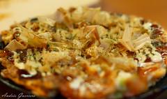 Okonomiyaki en el Hattori Hanzo