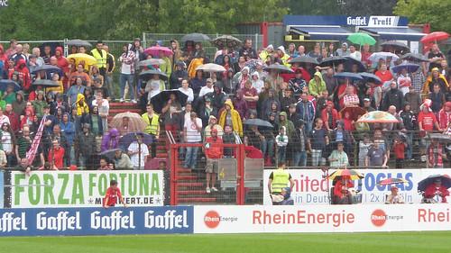 Regen im Südstadion