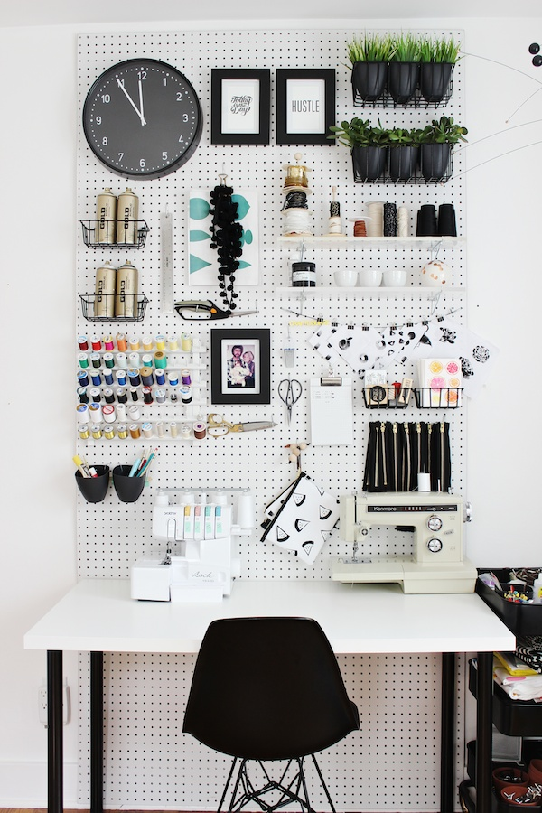 Functional Design Ideas - Pegboard Organization