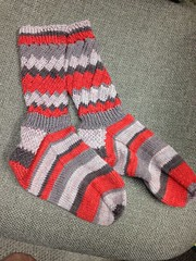 Fruit stripe gum socks DONE
