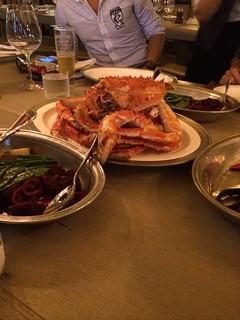 Delicious Crab Dinner!