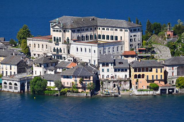 Benedictine monastery, Isola San Giulio, Lake Orta, Italy