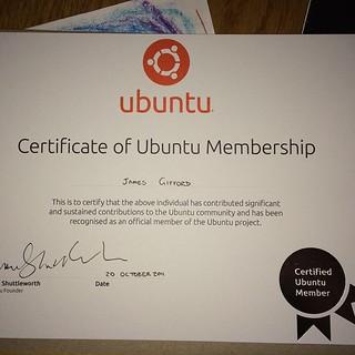 Yay it's here! #ubuntu #linux #ubuntulinux