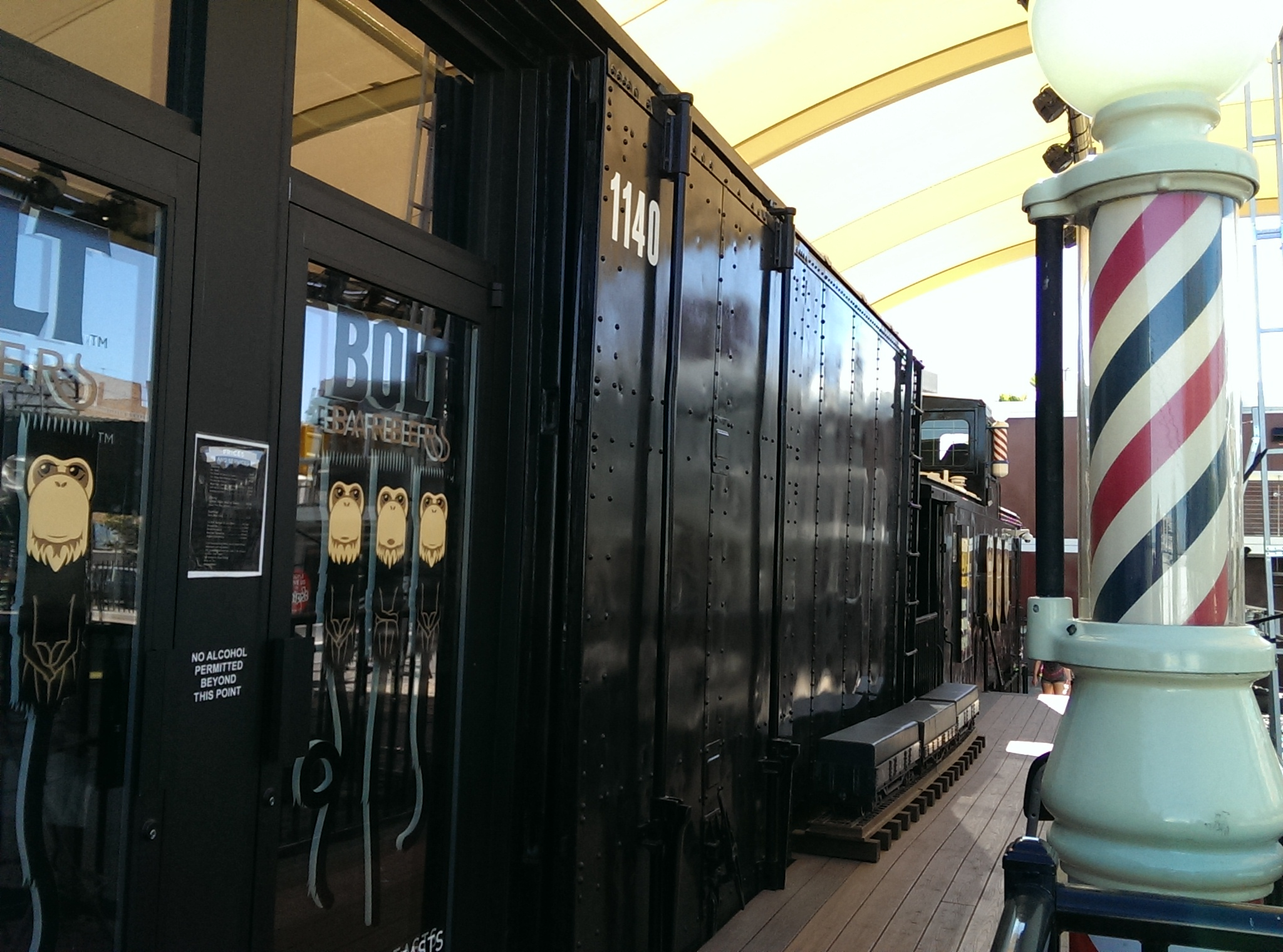 Downtown Container Park Las Vegas barber shop Flickr - Photo Sharing ...