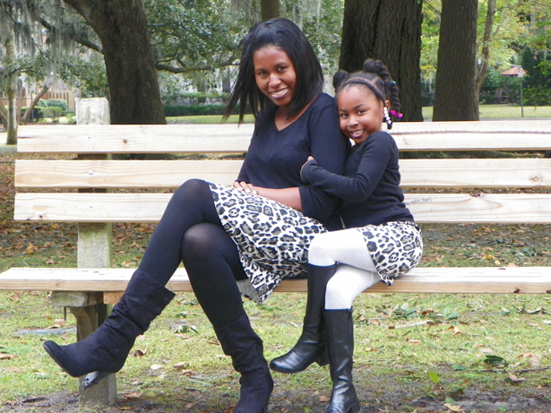 victoria baylor matching mother daughter outfits
