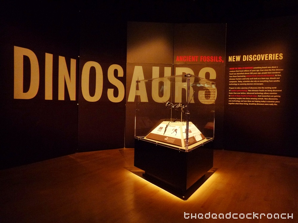 artscience museum, dawn to extinction, dinosaurs, exhibition, marina bay sands, mbs, singapore