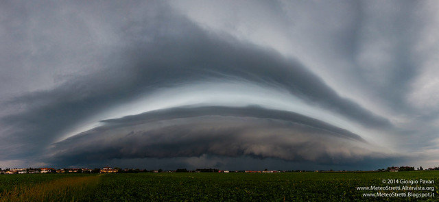 26 luglio 2014 - shelf cloud