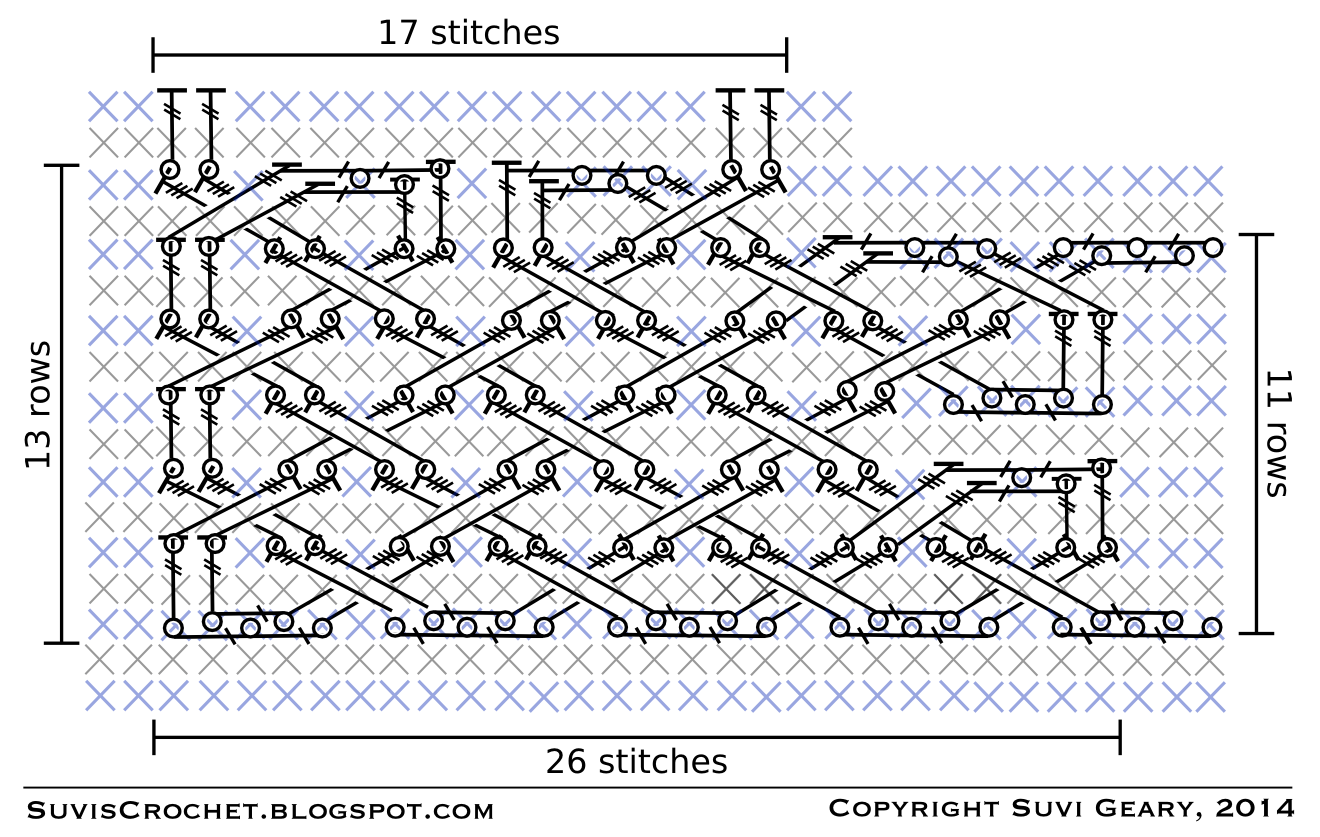how to add stitches in the middle of a row