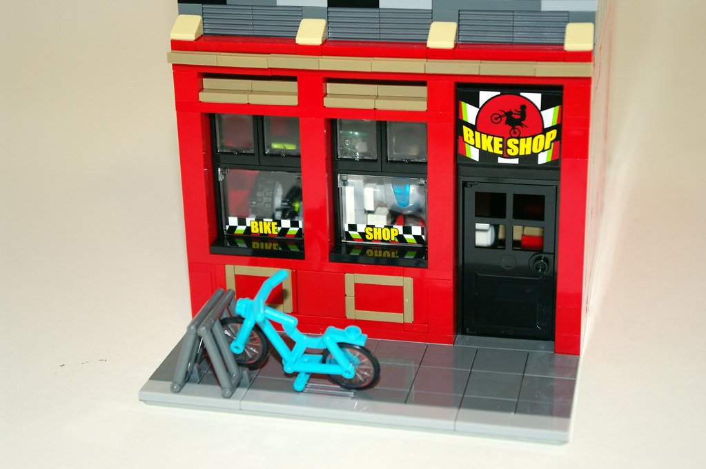 Lego City Bike Shop And Cafe