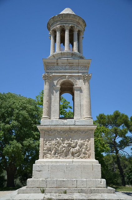 The Mausoleum of the Julii, about 40 BC, Glanum