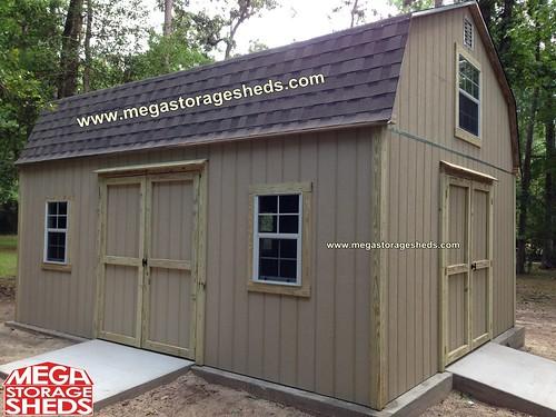 Hardie Plank Siding Mega Storage Sheds