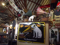 """Cotswold Motoring Museum - Bourton-on-the-Water - Mill Gallery - """"His Master's Voice"""""""