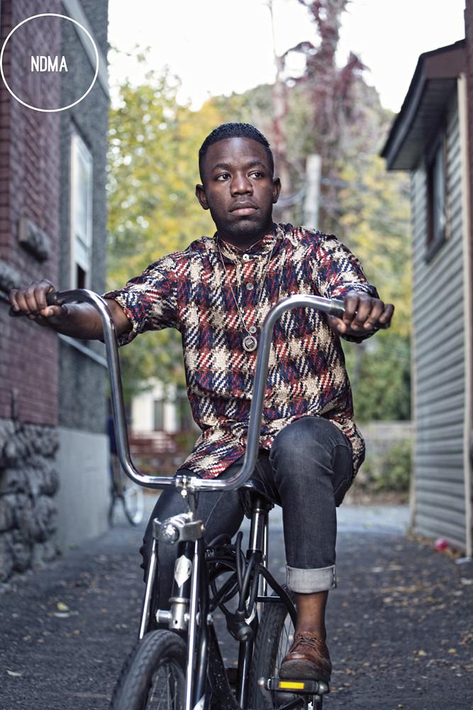 NDMA on a bike