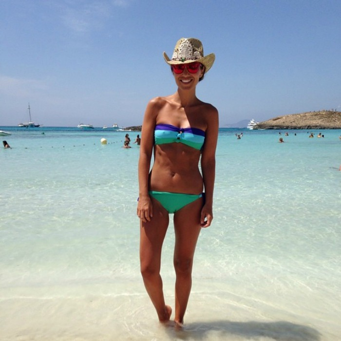 paula echevarria bikinis