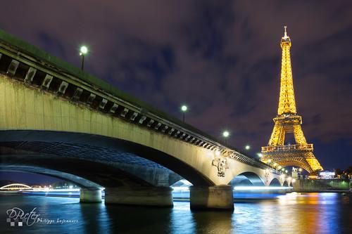 Paris - Tour Eiffel and Pont d'Iena