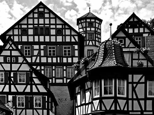 Fachwerk in Creglingen