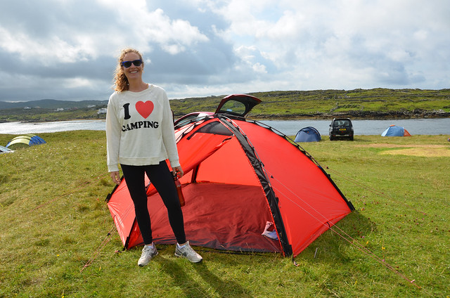 Camping in Connemara