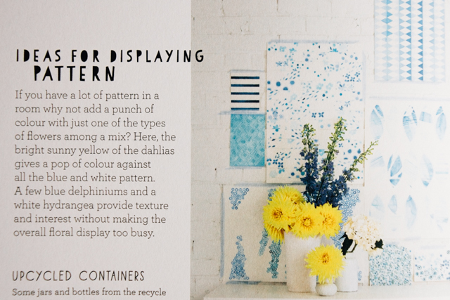 book review / decorate with flowers