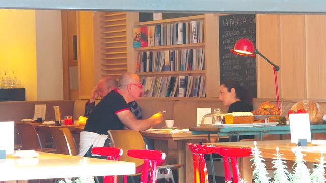 La Fabrica café Madri - Onde comer em Madri