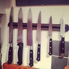 Mother approved knife arrangement, yes she arranged them until they were 'right' #iammyfathersdaughter