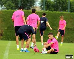 Entrenamiento  FC Barcelona (17-08-14)