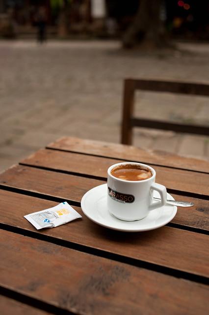 Coffee Break at the Old Tree Café, Shaxi, Yunnan, China 2014