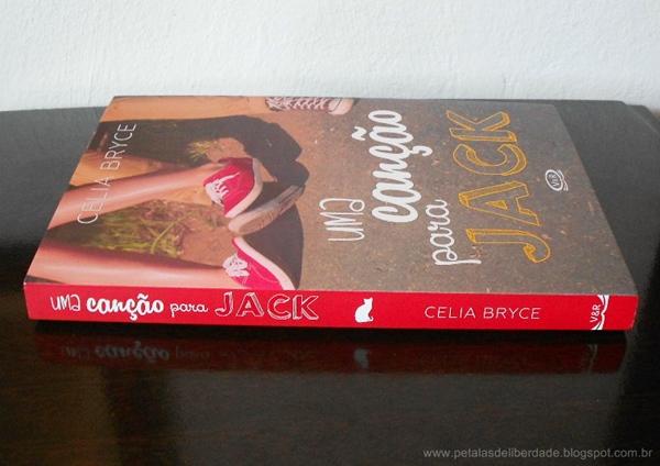 Livro, Uma canção para Jack, Celia Bryce, resenha, trechos, crítica