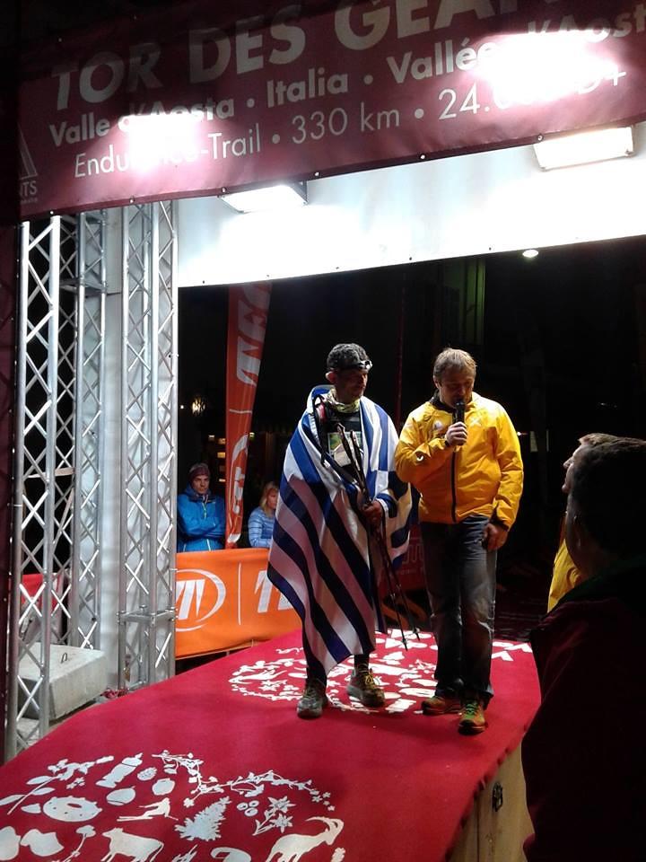 Ο Μιχάλης Παπαδόπουλος τερματίζει στον TDG 2014 μετά από 132 ώρες και 50 λεπτά!