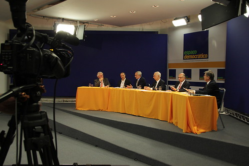 Debate do Espaço Democrático sobre a gestão de recursos hídricos