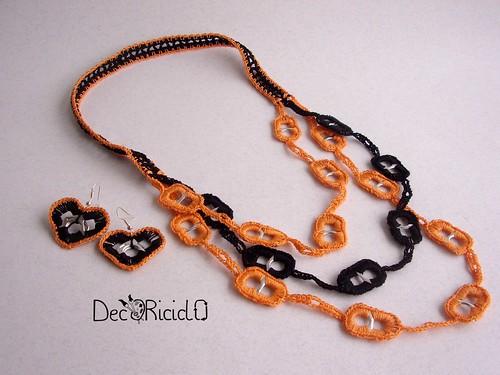 collana linguette arancionero 4