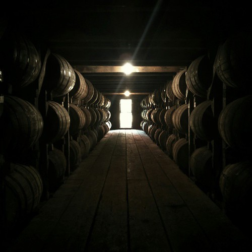 If you find yourself in a barrel house, take a deep breath. That's what they call the angel's share.