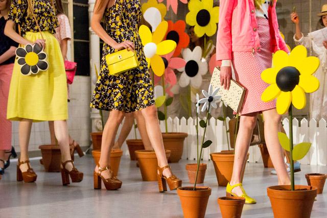 Orla Kiely SS15 Clarks Shoes collaboration