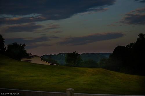 sky clouds barn sunrise nikon pasture lightroom mosslake