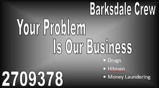 Barksdale Business Card